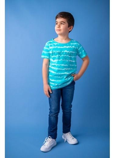 Zeyland Unisex Skinny Çocuk Kot Pantolon (5-14yaş) Unisex Skinny Çocuk Kot Pantolon (5-14yaş) Mavi